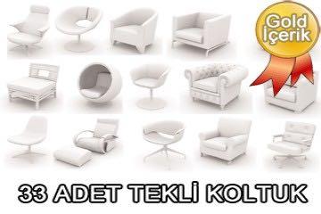 33 adet koltuk çizimi (3d koltuk tefrişleri)