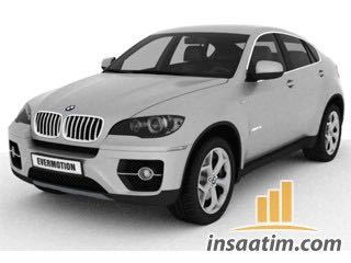 3D Model BMW X6 Çizimi