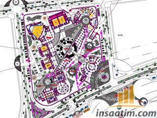 Kongre ve Kültür Merkezi Projesi (Autocad Çizimi)