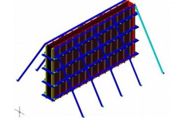 Betonarme Duvar Kalıpların Üç Boyutlu Parametrik Tasarımı