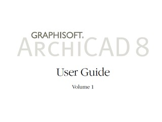 ArchiCAD User Guide 1