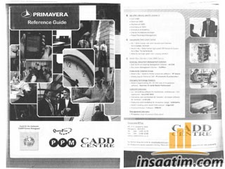 Primavera Project Management Reference Guide