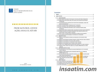 Statik Proje Kontrol Listesi El Kitabı
