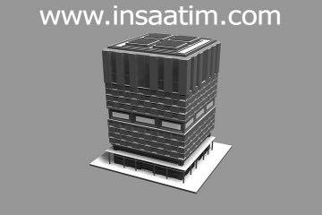 3 boyutlu bina çizimi 1