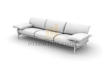 3ds max kanepe çizimi 1 (köşe oturma grubu)