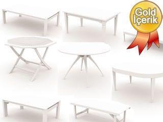 17 adet masa çizimi (3d masa tefrişleri)