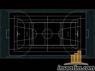 2D Basketbol Sahası Çizimi