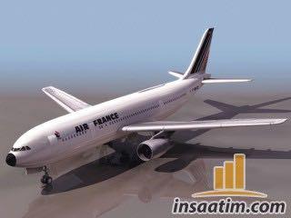 Yolcu Uçağı Çizimi