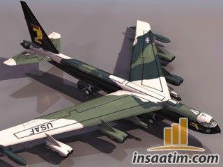 Askeri Kargo Uçağı Çizimi