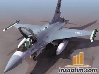 F16 Savaş Uçağı Çizimi