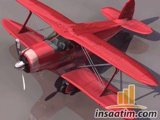 G17S Model Uçak Çizimi