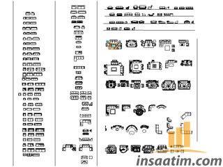 Yüzlerce Autocad Çizim Tefrişleri (dwg)