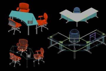 Ofis Mobilyaları (Masa, Koltuk, vb.)