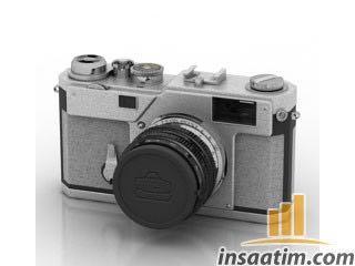 Fotoğraf Makinesi Çizimi - 3D Model