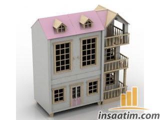 Oyuncak Ev Çizimi - 3D Model