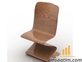 Farklı Sandalye Çizimi - 3D Model