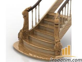 Merdiven Çizimi - 3D Model