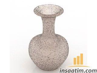 Vazo Çizimi - 3D Model