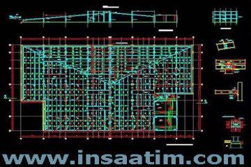 Fabrika Çatı Projesi