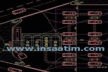 Akaryakıt İstasyonu ve Oto Yıkama Yeri Mimari Projesi