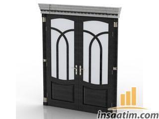 Apartman Giriş Kapısı Çizimi - 3D Model