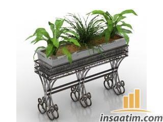 Bitki Çizimi - 3D Model