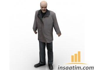 Adam Çizimi - 3D Model