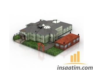 Bina Çizimi - 3D Model