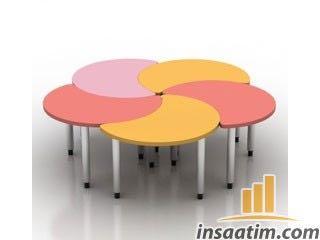 Çocuk Oyun Masası Çizimi - 3D Model