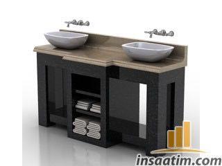Lavabo Çizimi - 3D Model