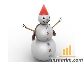 Kardan Adam Çizimi - 3D Model