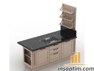 Mutfak Çizimi - 3D Model