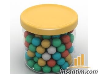 Şeker Çizimi - 3D Model