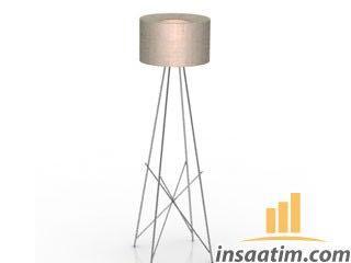 Lambader Çizimi - 3D Modeli