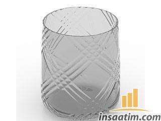 Su Bardağı Çizimi - 3D Model