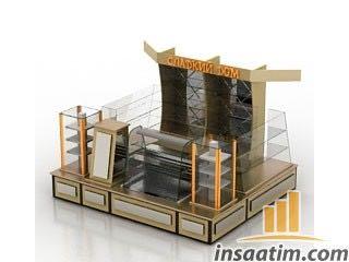 Market Rafı Çizimi - 3D Model