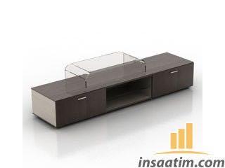 TV Ünitesi Çizimi - 3D Model