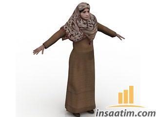 Kadın Çizimi - 3D Model