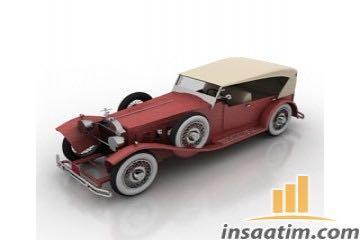 Araba Çizimi - 3D Model