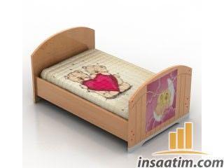 Tekli Yatak Çizimi - 3D Model