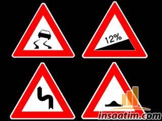 Trafik İşaret Levhası Çizimleri (dwg) - 22 adet