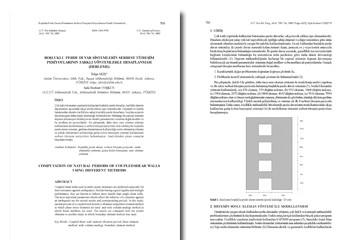 Boşluklu Perde Duvar Sistemlerin Serbest Titreşim Periyotlarının Farklı Yöntemlerle Hesaplanması
