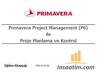 Primavera P6 ile Proje Planlama ve Kontrol