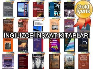 110 Adet İnşaat Kitabı (İngilizce) - Civil Engineering Books