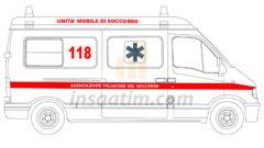 Ambulans Çizimi 2 (dwg)