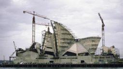 Dünyaca ünlü 20 görkemli yapının inşaat fotoğrafları