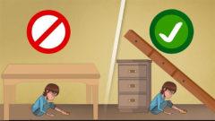 Depremde Hayatta Kalmanın Altın Kuralları