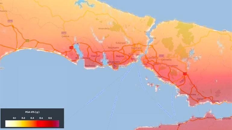 İstanbul'un İlçeleri Kaçıncı Derece Deprem Bölgesinde…