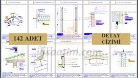 Çeşitli Mimari Detay Çizimleri (dwg)