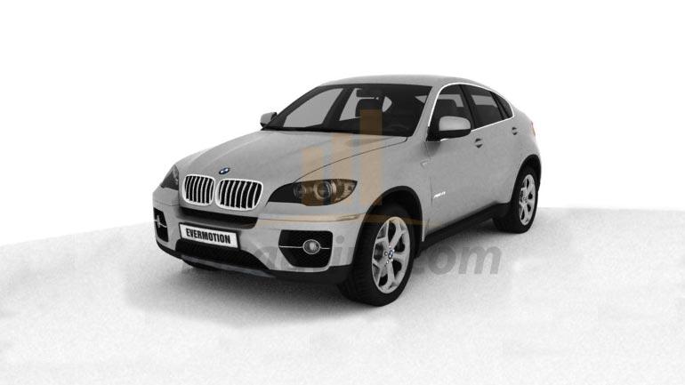 3D Model BMW X6 Çizimi